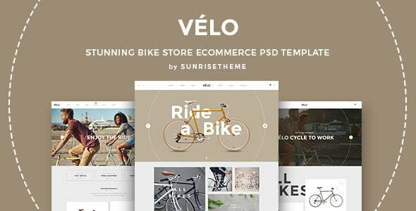 VELO- Bike Store Responsive Business Theme