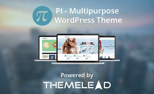 PI - Responsive Multi-Purpose Theme - ThemeLead