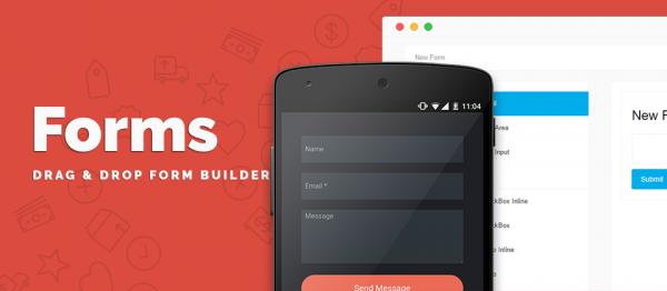 Forms - Joomla Drag and Drop Form Builder