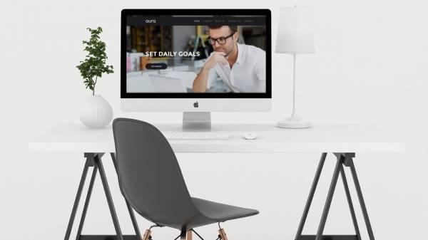 Aura Solid Business Gridbox Theme and Joomla Quickstart