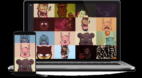 Uncover - Joomla portfolio template