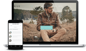 GENIUS - JOOMLA ELEGANT TEMPLATE FOR MODERN BUSINESS