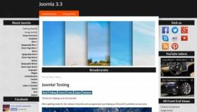 Helios 3 Joomla 3.x FREE tempalte