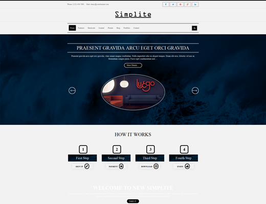 TM Simplite - Responsive Creative Joomla Template
