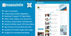 TM Magazinite - Blog and Magazine Joomla Template