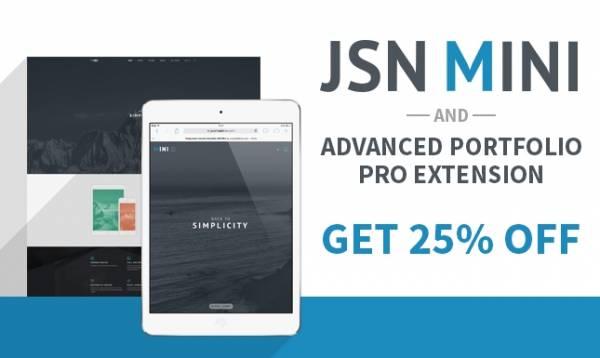 JSN MINI - Stunning Portfolio Template