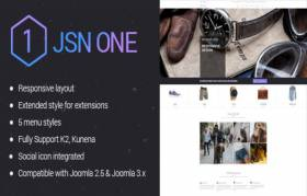 JSN One - An Outstanding eCommerce Template.