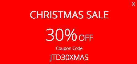 JoomlaTd - Christmas sale