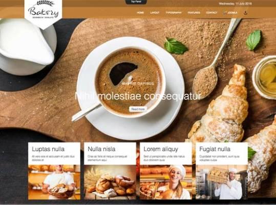 Td Bakery - Joomla template