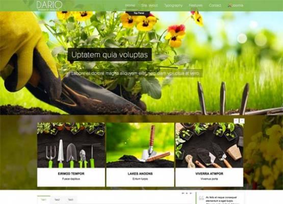 Td Dario - Free & commercial joomla template
