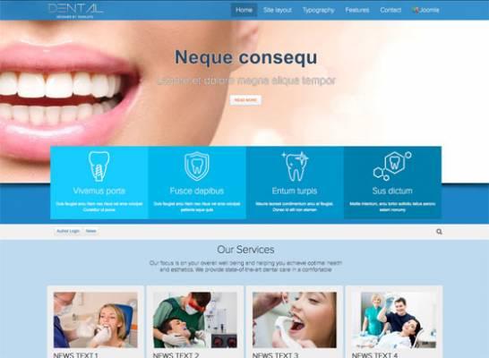 Td Dental - Joomla template