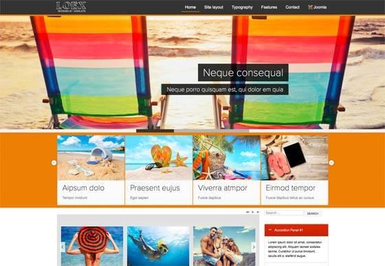 Td Loex - Free & commercial joomla template