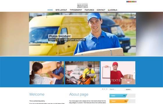 Td Maxor - Free & commercial joomla template