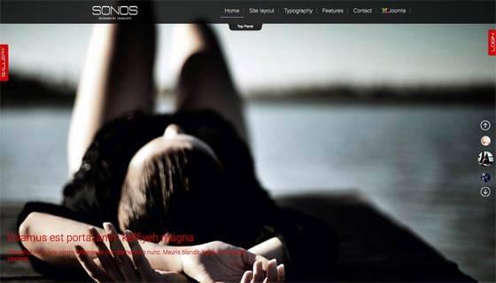 Td Sonos - Free & commercial joomla template