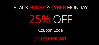 Black Friday 25% off - Joomlatd