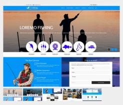 Td Fishing - Joomla template