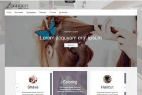 Td Hairdresser - Joomla template