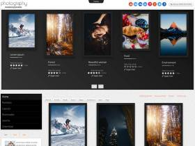 Td Photography - Joomla template