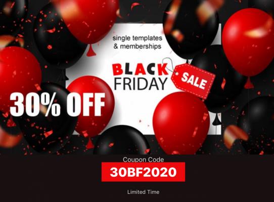 30 % OFF -Black Friday- Joomla2you