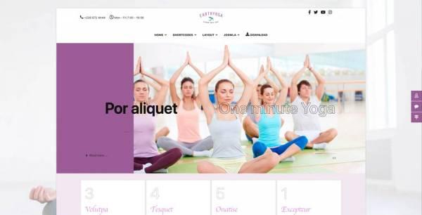 Ju_joomla111- Yoga template
