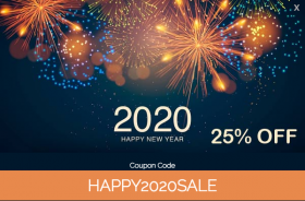 25 % OFF -Happy New Year- Joomla2you