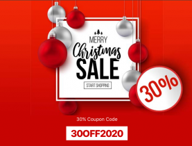 Christmas offers - 30% Off