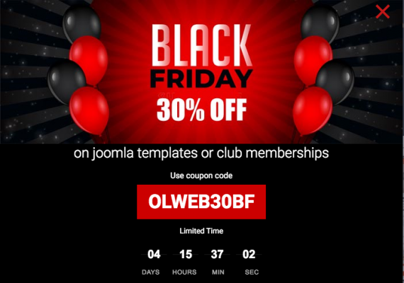 Olwebdesign - Black Friday 30% off