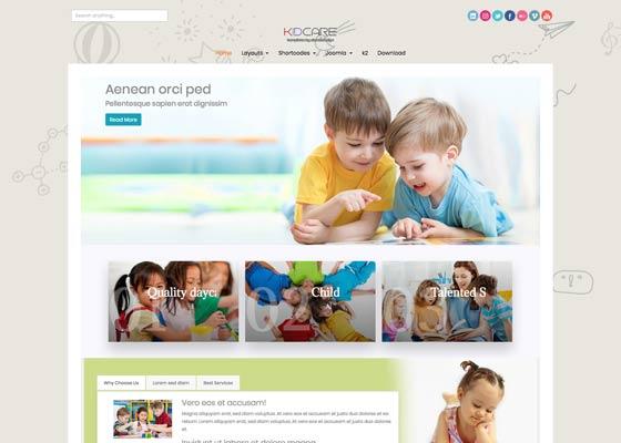 Ol_Kidcare - Joomla Template