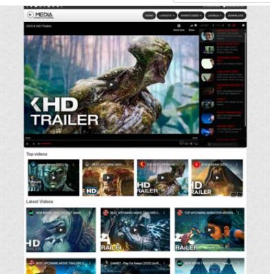 Ol Media - Video player Joomla Template