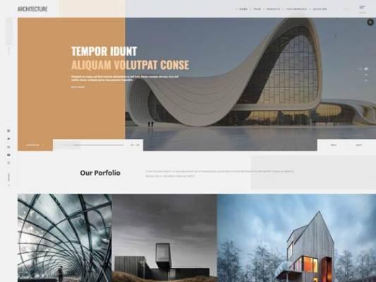 Ol_Architecture- Joomla Template