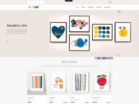 Ol_Artprint- Virtuemart eCommerce joomla template