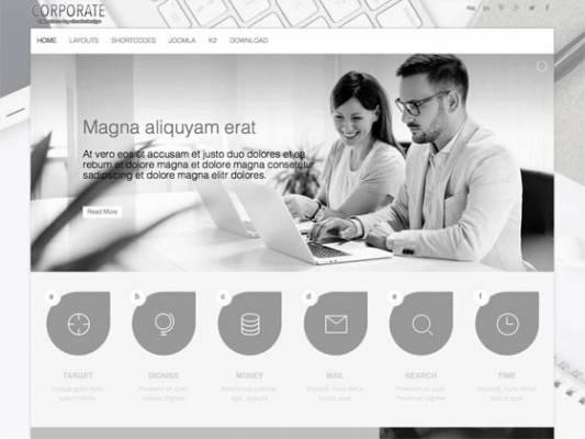 Ol_Corporate- Joomla Template