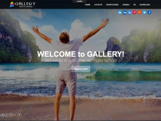 Ol_Gallery - Joomla Template