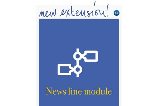 News line module for Joomla