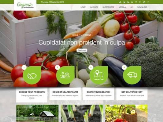 Ol_Organic- Joomla Template
