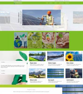 Ol_Sustainable- Joomla Template