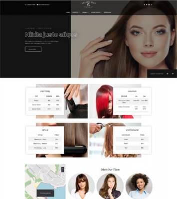 Ol_hairdresser - Joomla template