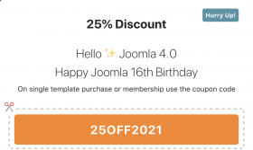 August offer- 25% off - Olwebdesign