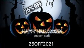 Halloween deals - 25% off