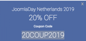 Joomla day discount - olwebdesign