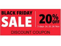 Black Friday 20%OFF all templates