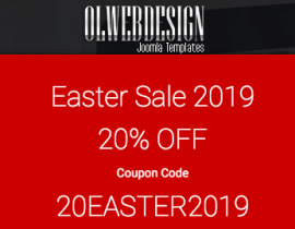 Easter discount - olwebdesign