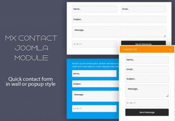 MX Quick Contact - Joomla Module
