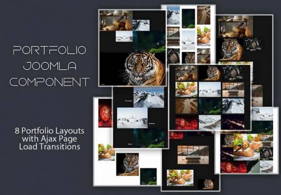 Mx Portfolio Joomla extension