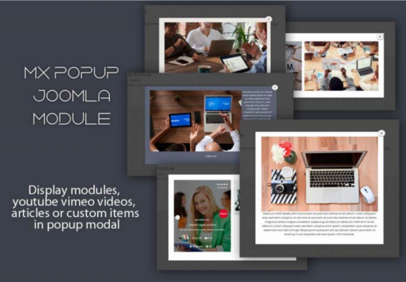 Popup Joomla Module -Mixwebtemplates