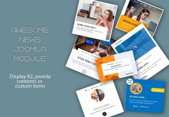 Awesome News Joomla Module