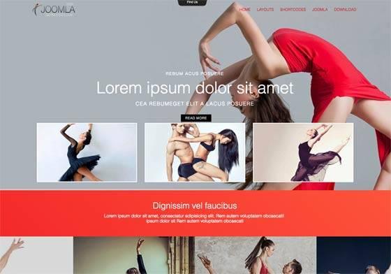 Mx_joomla173 - Free Joomla Template