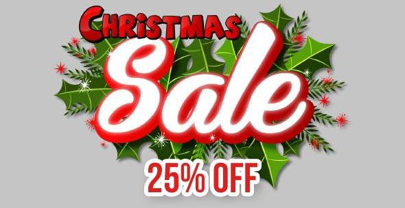 Mixwebtemplates - 25% Christmas sales!