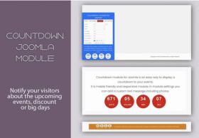 Mx Countdown-Joomla module