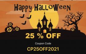 Mixweb Halloween offer - 25% OFF